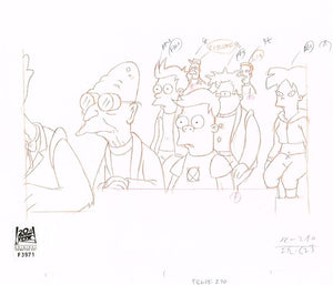6ACV25 (Season 6) | Futurama Production Art