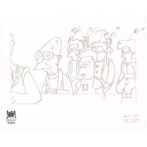 6ACV25 (Season 6) | Futurama Production Art thumb