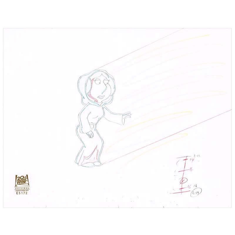6ACX21 (Season 8) | Family Guy Production Art thumb