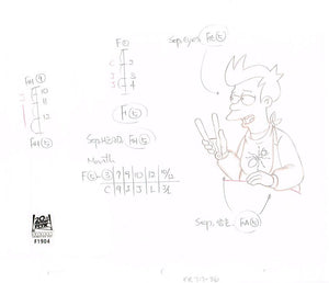 7ACV17 (Season 7) | Futurama Production Art