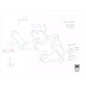 7ACV18 (Season 7) | Futurama Production Art thumb