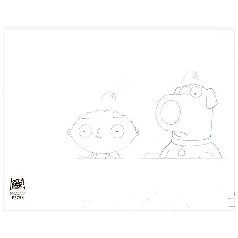 8ACX11 (Season 9) | Family Guy Production Art thumb