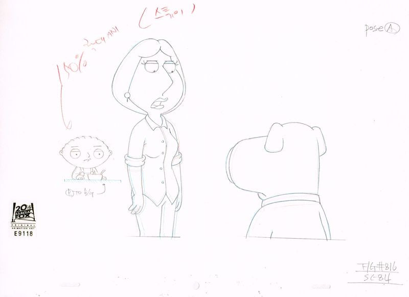 8ACX16 (Season 9) | Family Guy Production Art thumb