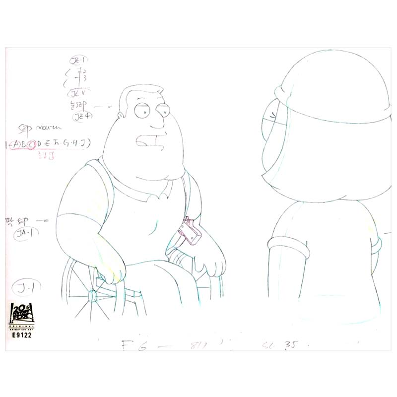 8ACX17 (Season 9) | Family Guy Production Art thumb