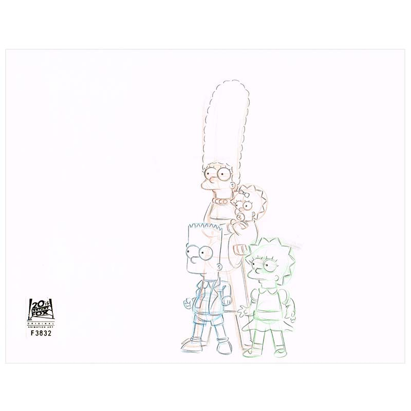 AABF03 (Season 10) | Simpsons Production Art thumb