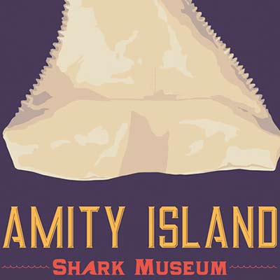 Shark Museum by Steve Thomas | Travel Poster print