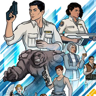 Archer: 1999 by Stephen Slesinski | Archer