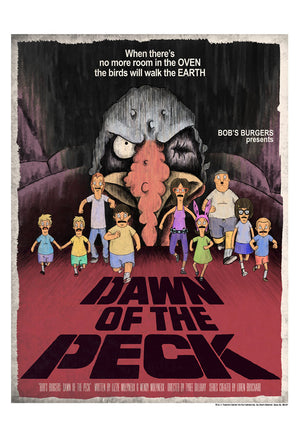 Dawn of the Peck by J.J. Lendl | Bob's Burgers