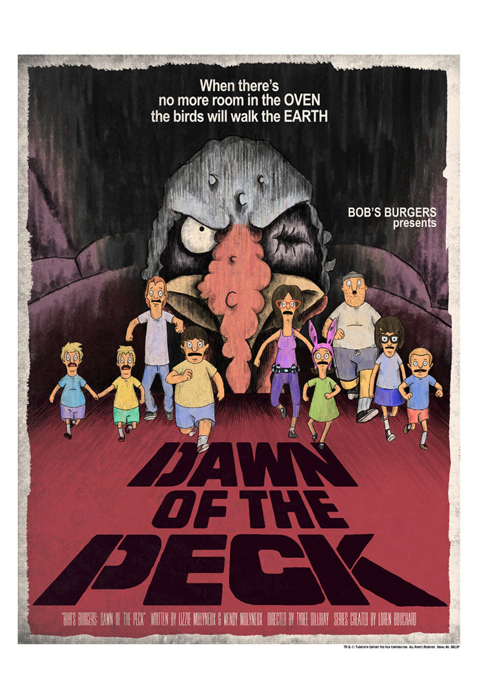 Dawn of the Peck by J.J. Lendl | Bob's Burgers thumb