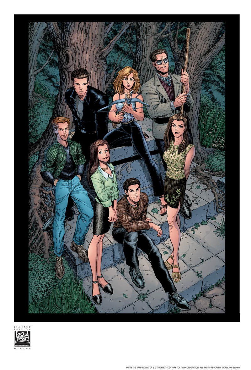 Issue #6 by Arthur Adams | Buffy the Vampire Slayer