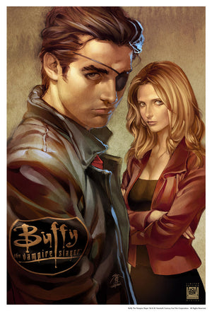 Buffy & Xander Issue 2 by Jo Chen | Buffy the Vampire Slayer