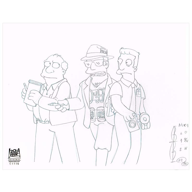 CABF09 (Season 12) | Simpsons Production Art thumb