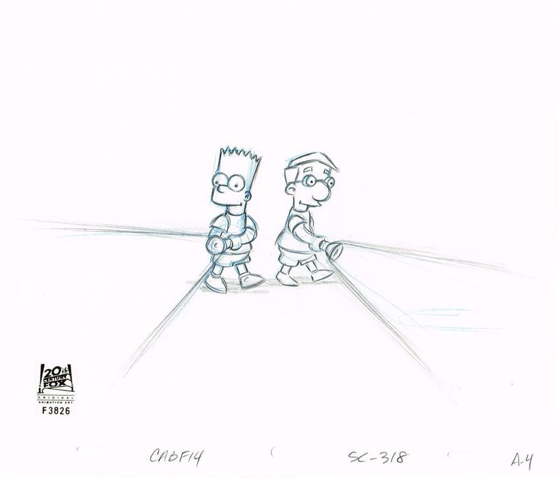 CABF14 (Season 12) | Simpsons Production Art thumb