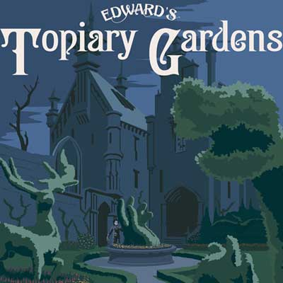 Edward's Topiary Gardens by Steve Thomas | Edward Scissorhands