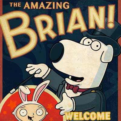 The Amazing Brian | Family Guy