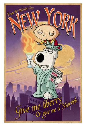 Road to New York | Family Guy