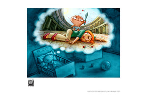 Stewie's Dream by Mark Covell | Family Guy