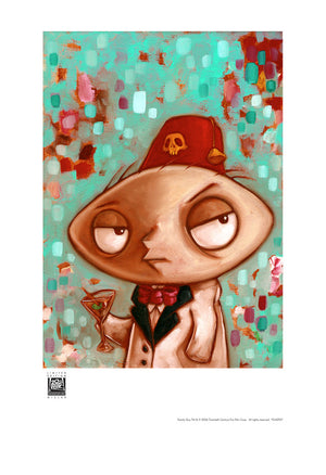 Shriner Stewie by Kathie Olivas | Family Guy