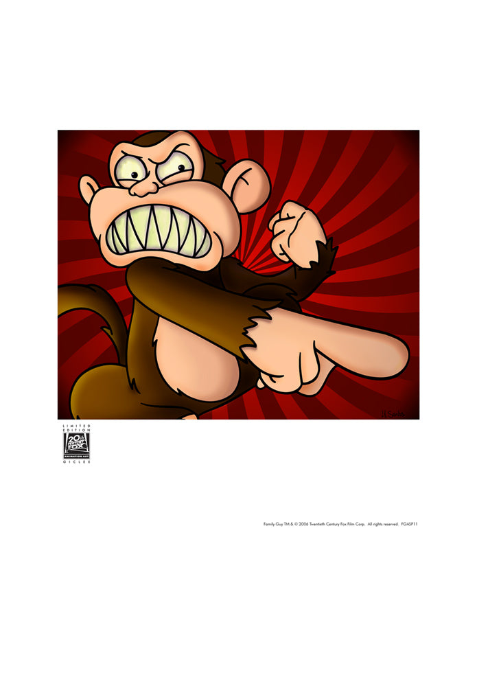Evilmonkeybusiness by Alex Ruiz | Family Guy