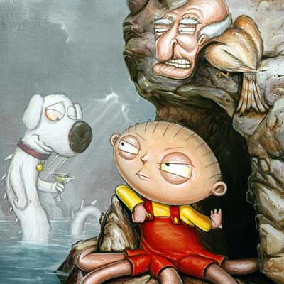 Wait a Second by Greg Simkins | Family Guy