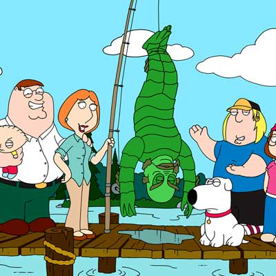 Family Fishing | Family Guy