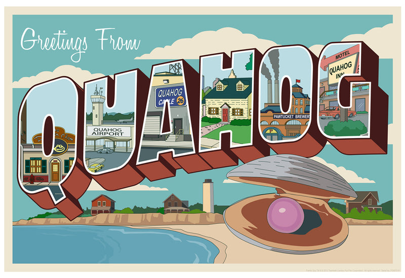 Greetings from Quahog by Steve Thomas | Family Guy