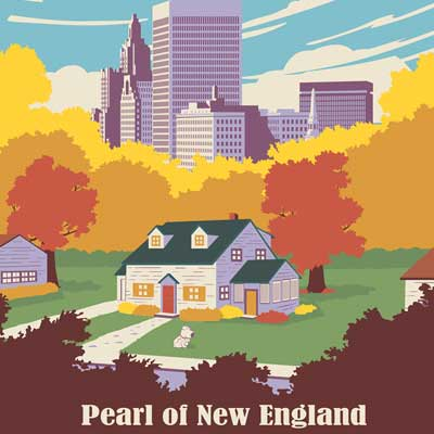 Pearl of New England by Steve Thomas | Family Guy