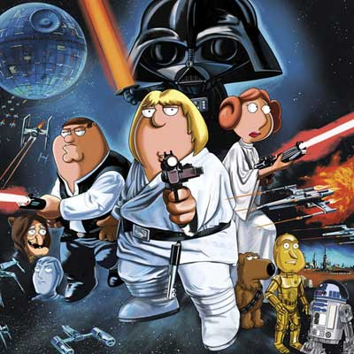 Blue Harvest Poster | Family Guy