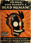 The Only Good Human is a Dead Human | Futurama (canvas)