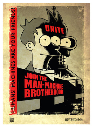 Unite - Machines Are Your Friends | Futurama (paper)