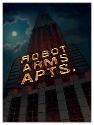 Robot Arms Apts by Amanda Cook | Futurama