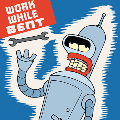Work While Bent | Futurama