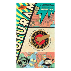 Planet Express Logo Gold Variant Collectible Pin | Futurama