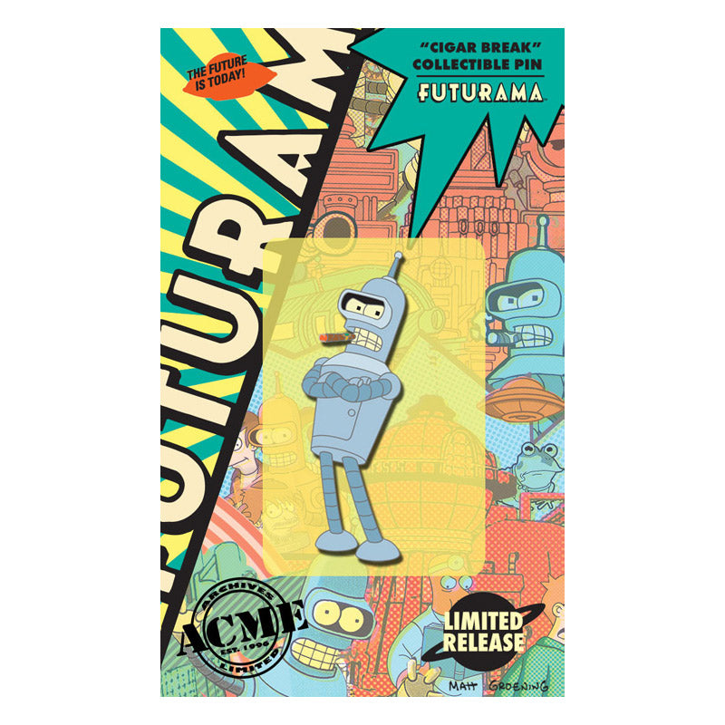 Cigar Break Collectible Pin | Futurama