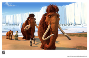 Group Walking | Ice Age 2 The Meltdown
