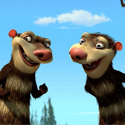 Crash and Eddie | Ice Age 2 The Meltdown