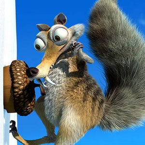 Scrat with Acorn | Ice Age 2 The Meltdown