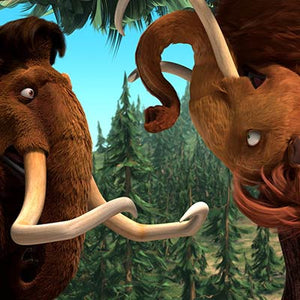 Ellie Upside Down | Ice Age 2 The Meltdown