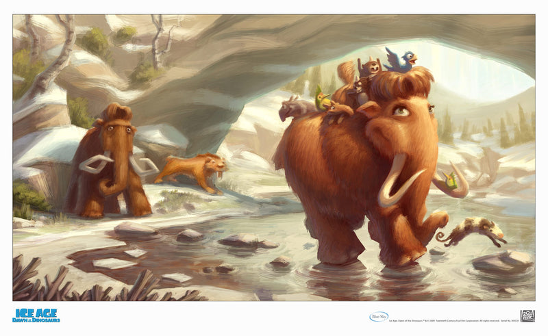 Ellie With Kids | Ice Age 3 Dawn of the Dinosaurs