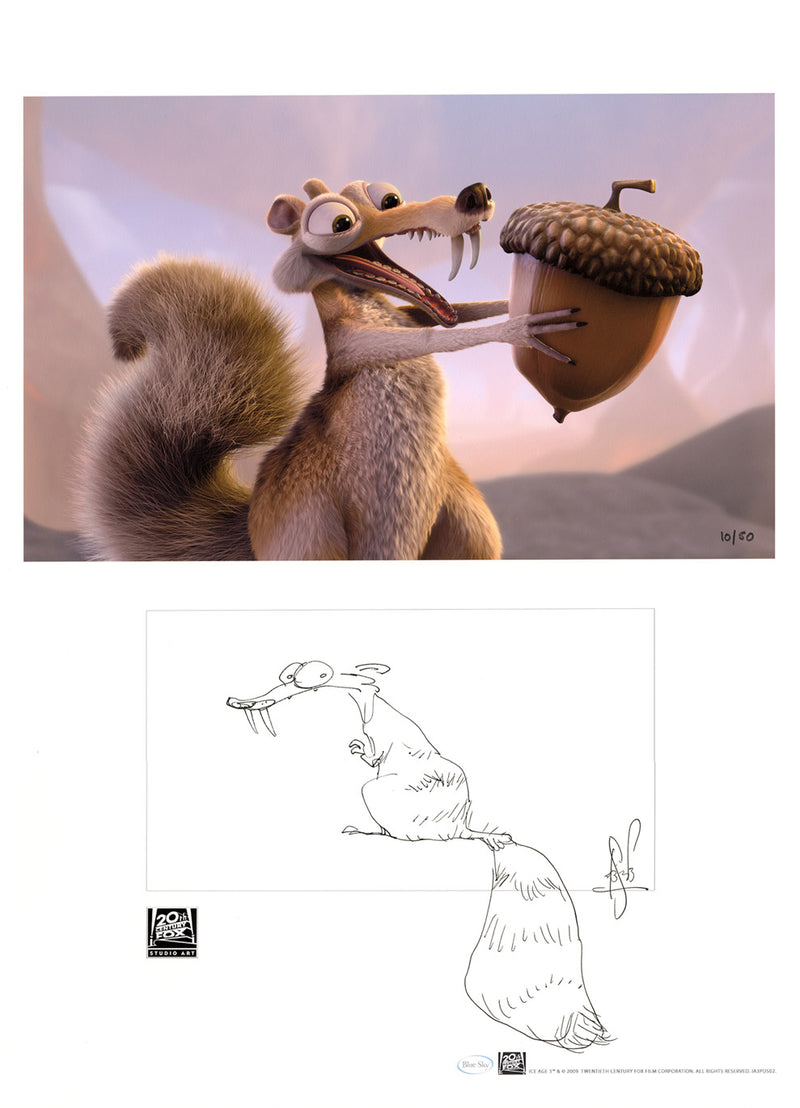 Artist Sketch | Ice Age 3 Dawn of the Dinosaurs