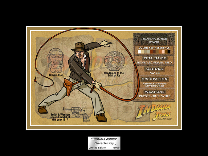 Indiana Jones Character Key | Raiders of the Lost Ark