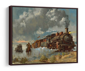 Chasing the Iron Horse by David Tutwiler | Indiana Jones
