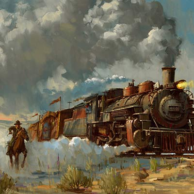 Chasing the Iron Horse by David Tutwiler ref | Indiana Jones