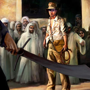 Showdown by Cliff Cramp | Indiana Jones