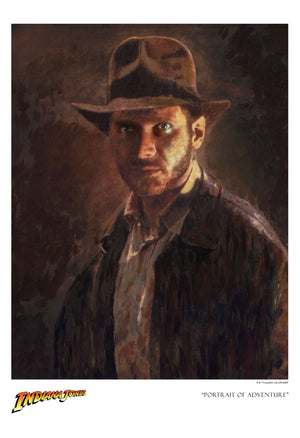 Portrait of Adventure by Masey | Indiana Jones