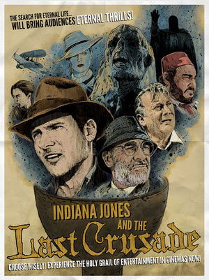 Eternal Thrills by J.J. Lendl | Indiana Jones