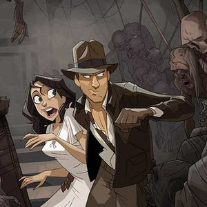 Escaping the Tomb by Patrick Schoenmaker | Indiana Jones