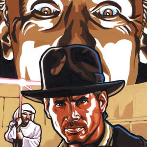 Eyes on Adventure by Randy Martinez | Indiana Jones