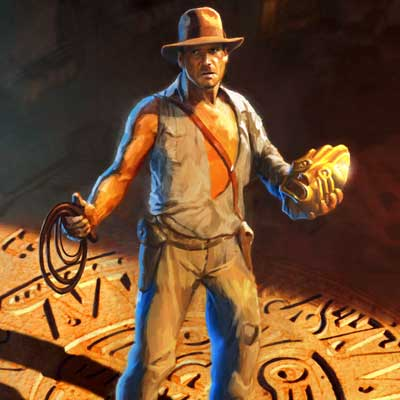 In the Lost City... by Frank Nissen & Fred Warter | Indiana Jones