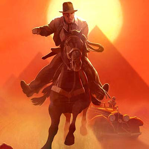 Escape from Atens Tomb by Frank Nissen & Fred Warter | Indiana Jones